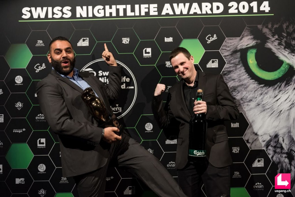 Swiss Nightlife Award 2014